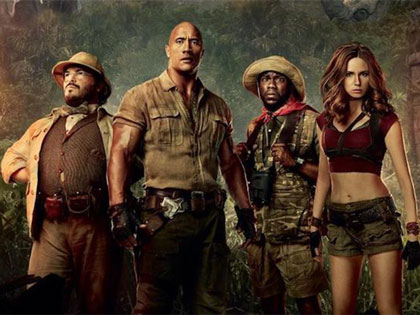 The Rock and Geng Sinyalkan Formasi Berbeda di Sekuel 'Jumanji: Welcome to the Jungle'