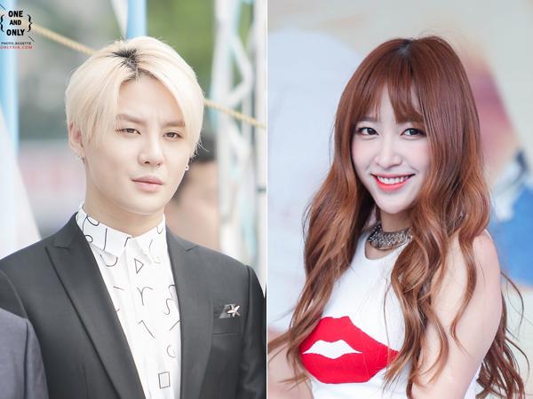 Junsu JYJ dan Hani EXID Dikabarkan Pacaran!