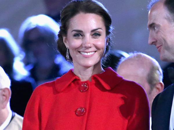 Hadiri Pesta Ultah Ratu Elizabeth, Kate Middleton Tetap Cantik Pakai Coat Murah