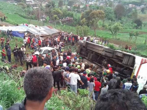 Kronologi dan Situasi Terkini Kecelakaan Maut Puncak Bogor