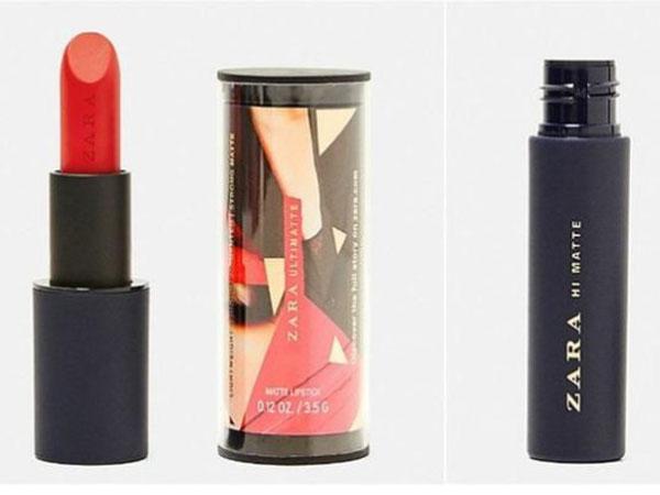 Penampakan Lipstik Perdana ZARA yang Baru Dirilis