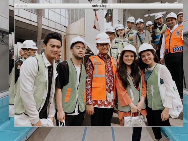Coba MRT, Aksi Marsha Aruan dan Influencer Lain Dikecam