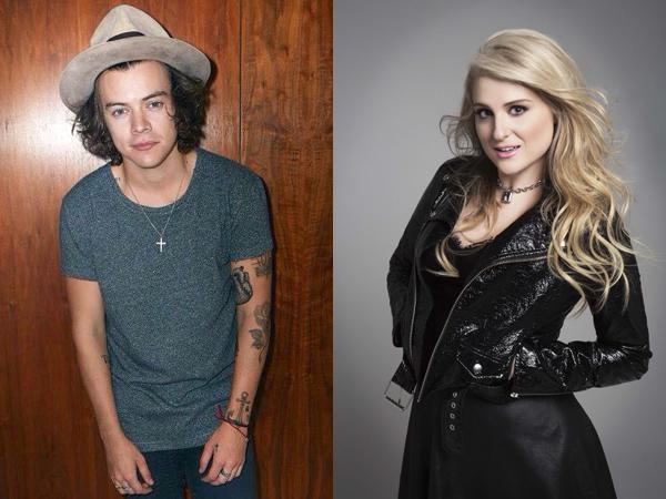 Duh, Harry Styles Sebut Meghan Trainor Penyanyi yang 'Jahat'!