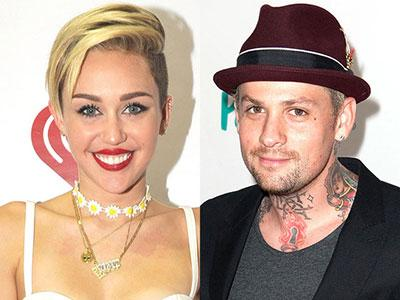 Cium Benji Good Charlotte, Miley Cyrus Move On?