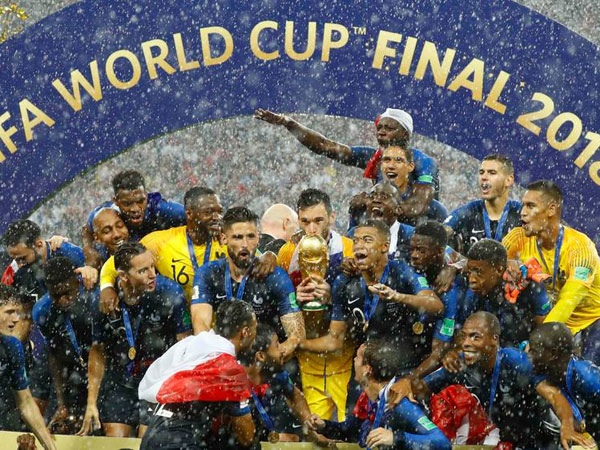 Inilah Angka Fantasis yang Diberikan FIFA  untuk Peserta dan Juara Piala Dunia 2018