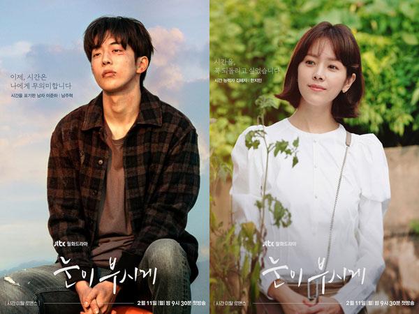Potret Kontras Nam Joo Hyuk dan Han Ji Min dalam Poster Drama JTBC 'Dazzling'
