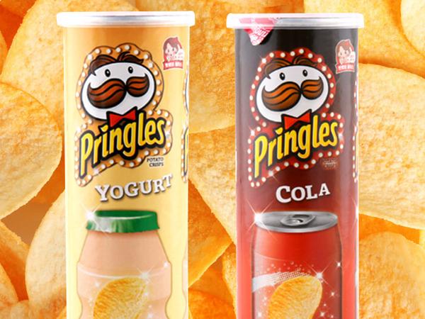 Pringles Hadirkan Dua Rasa Baru yang Unik Khusus di Korea Selatan