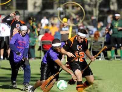 Pertandingan Bola Ala Harry Potter Ada Didunia Nyata