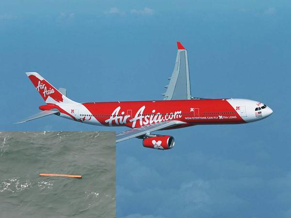 Serpihan Diduga Milik AirAsia QZ8501 Ditemukan di Selat Karimata