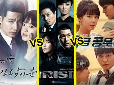 Pertarungan Rating Antar Tiga Drama Baru Populer Dimenangkan SBS!