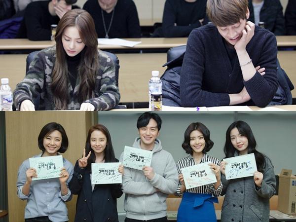 Intip Para Pemain Drama 'Dr. Ian' dan 'Ex-Girlfriend Club' Saat Sesi Pembacaan Naskah Yuk!