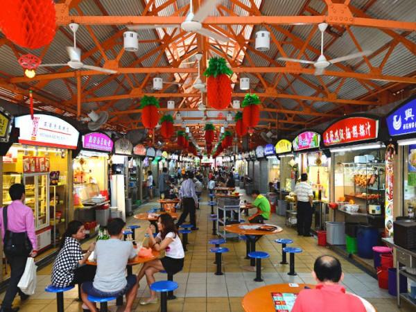 Ini Penyebab Mengapa Makanan Di Food Court Singapura Justru Lebih 'Mahal'