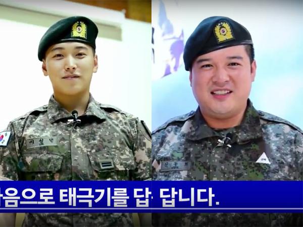 Rayakan Hari Kemerdekaan Korsel, Sungmin dan Shindong Super Junior Hadir Dalam Promosi Militer