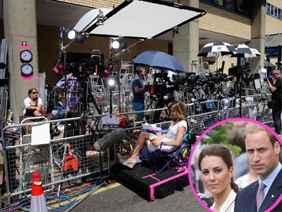Hiruk-Pikuk Paparazzi di Rumah Sakit Calon Bayi Kate Middleton