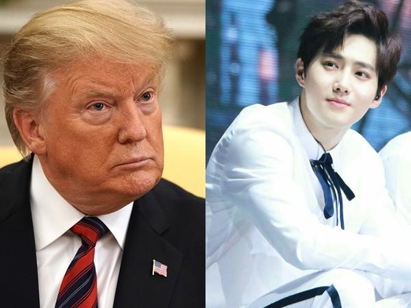 Presiden Donald Trump Sebut Mau Bersalaman dengan EXO Karena Hal Ini