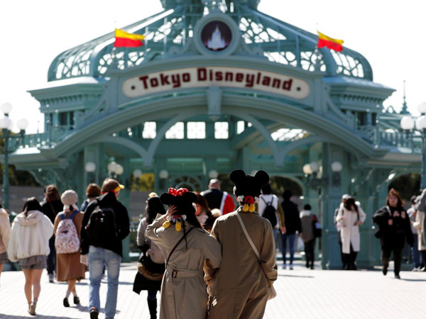 Penutupan Sementara Disneyland Tokyo Sudah Dimulai untuk Cegah Penyebaran Covid-19