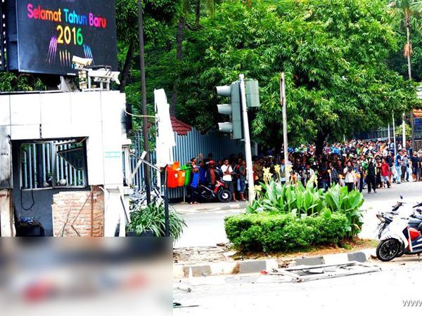 Salah Satu Korban Tewas Bom Sarinah Pemuda yang Tengah Ditilang Polisi