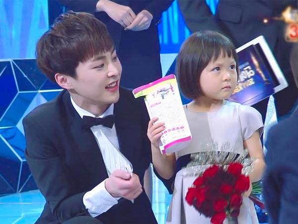 Berikan Penghargaan, Xiumin EXO Jatuh Cinta dengan Kepolosan Chu Sarang!