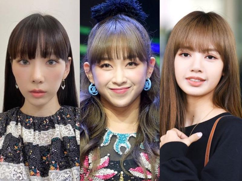 7 Idola K-Pop yang Tampil Cantik Dengan Poni