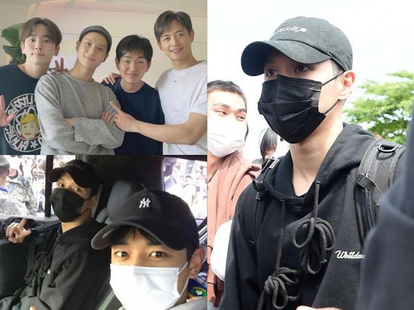 Foto-foto Taemin SHINee Resmi Masuk Wajib Militer Hari Ini