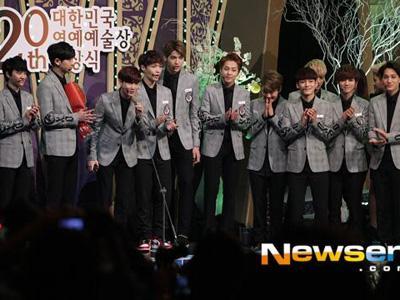 Inilah Para Idola K-Pop Peraih Penghargaan di 'Korean Entertainment Arts Awards 2014'!