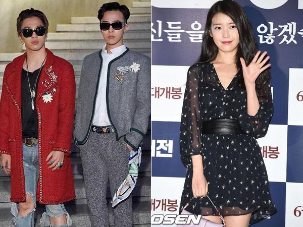 G-Dragon, Taeyang, dan IU Diam-diam Ikut Syuting 'Infinity Challenge' Music Festival?