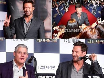 Promo Film Di Korea, Hugh Jackman Langsung Disambut Dengan Hangat