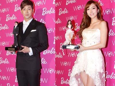 Jessica SNSD dan Yunho TVXQ Jadi Barbie and Ken Korea