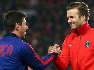 Beckham Angkat Jempol Buat Messi
