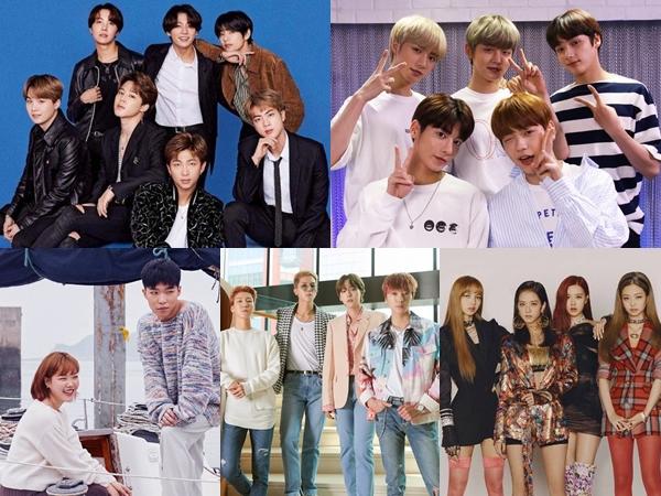Big Hit No. 1, YG Entertainment Terdepak dari Penjualan Album Agensi Big 3 di Tahun 2019