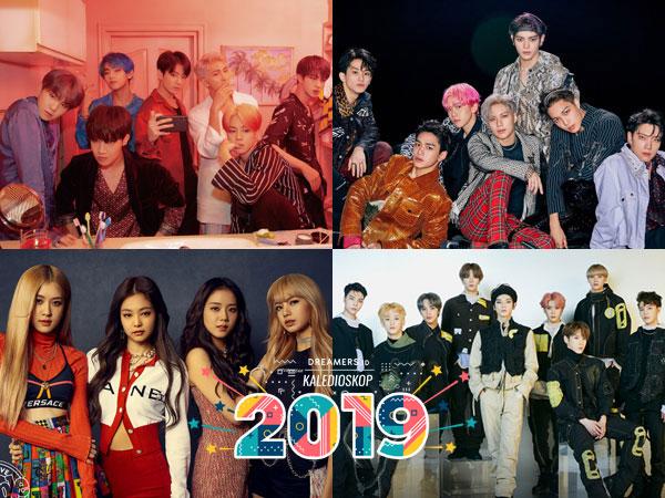 Deretan Artis K-Pop yang Mendominasi Chart Akhir Tahun Billboard