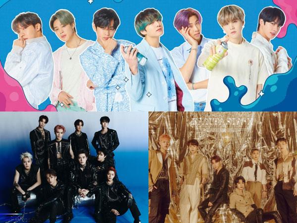 Dominasi BTS di Chart Billboard World Albums, Diikuti NCT 127 dan MONSTA X