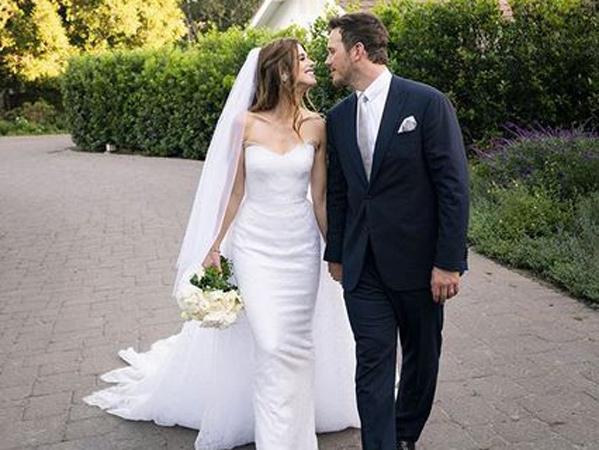 Chris Pratt Resmi Menikahi Katherine Schwarzenegger di Depan Mantan Istri