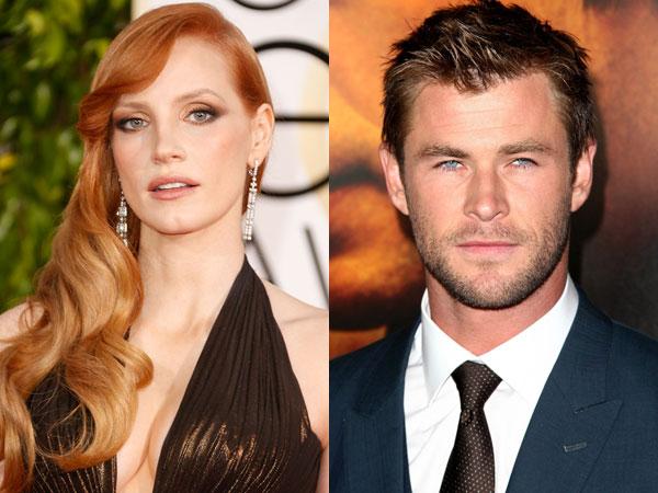 Jessica Chastain Gabung dengan Chris Hemsworth Untuk Spin Off 'Snow White & The Huntsman'