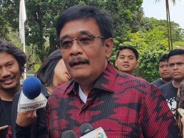 Bahas Pilgub Jatim di Rumah Megawati, Djarot Siap Dicalonkan Lagi?
