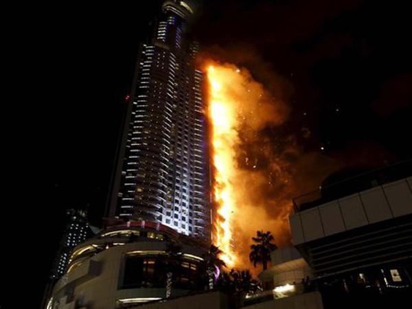 Ini Penyebab Kebakaran Hotel Mewah Dubai Pada Malam Tahun Baru