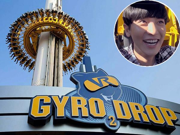 Viral Ternyata Editan, Intip Wahana Ekstrim Gyro Drop Lotte World Korea yang Pernah Dicoba EXO