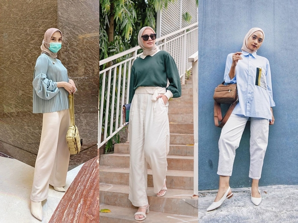 Simple nan Stylish, Ikuti Tren Hijami Ala Selebriti Indonesia Yuk