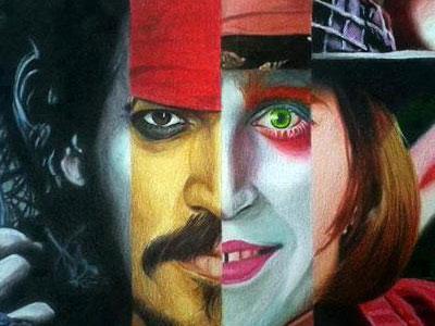Inilah 7 Wajah Karakter Unik Johnny Depp!