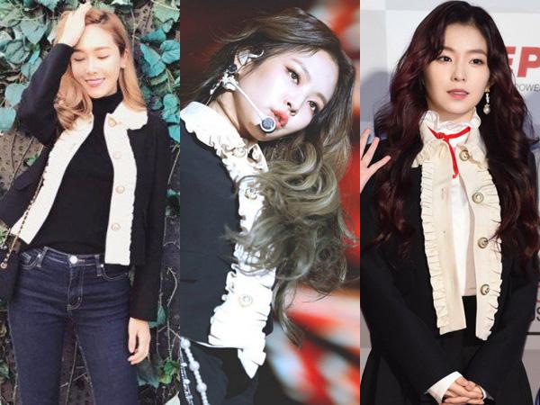 Jaket Gucci Kembar Jessica Jung vs Irene Red Velvet vs Jennie BLACKPINK, Siapa Termodis?