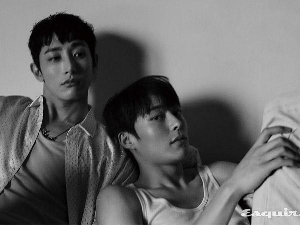Cerita Berbeda Lee Soo Hyuk dan Jang Ki Yong Jalani Karir Sebagai Model dan Aktor