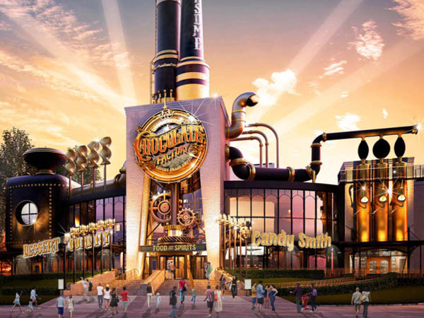 Siap Berkunjung Ke Restoran Berkonsep Pabrik Cokelat Willy Wonka?