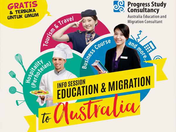 Mau Tahu Cara Mudah Bisa Kuliah ke Australia? Datang ke Progress Study Jakarta Yuk!