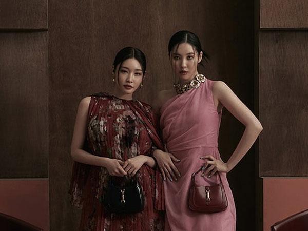 Sunmi dan Chungha Unjuk Kedekatan di Pemotretan Terbaru