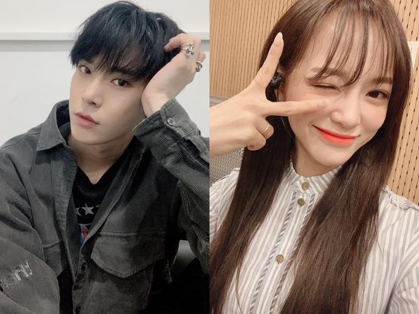 Manisnya Interaksi Doyoung NCT dan Sejeong Gugudan, Berikan Album, Duet Hingga Saling Minta Maaf
