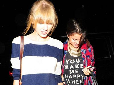 Putus Dengan Bieber, Selena Gomez Dinasehati Taylor Swift