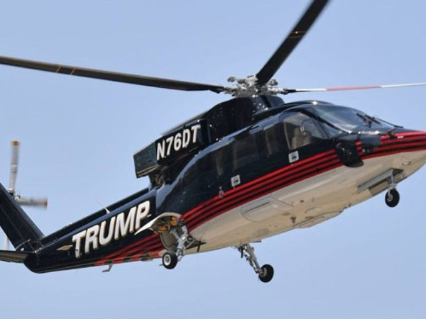 Helikopter Emas Milik Donald Trump Dijual Rp 98 M, Kenapa?