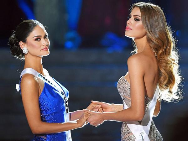 Miss Universe 2015 Pia Wurtzbach Ingin Damaikan Fansnya dengan Fans Miss Colombia