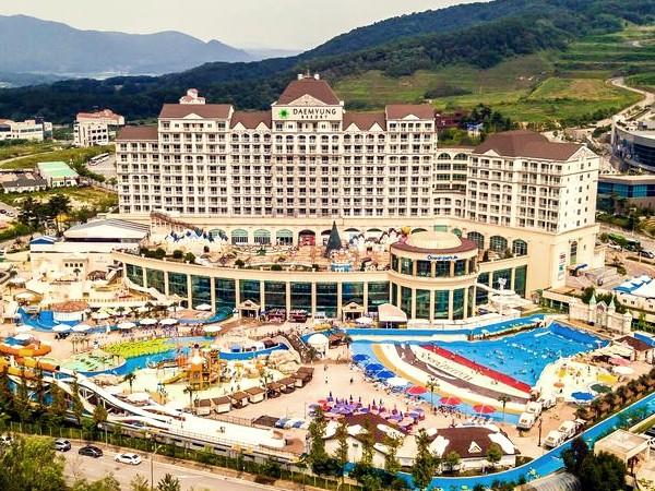 Wisata Sehat Sambil Melihat Pemandangan Indah Di Daemyung Resort Cheonan Ocean Park
