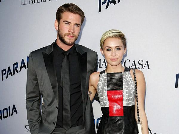 Dikabarkan Hamil, Miley Cyrus dan Liam Hemsworth telah Menikah?